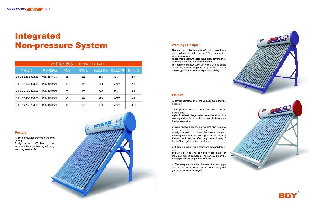 Parabolic Trough Solar Collector Solar Water Heater Buy