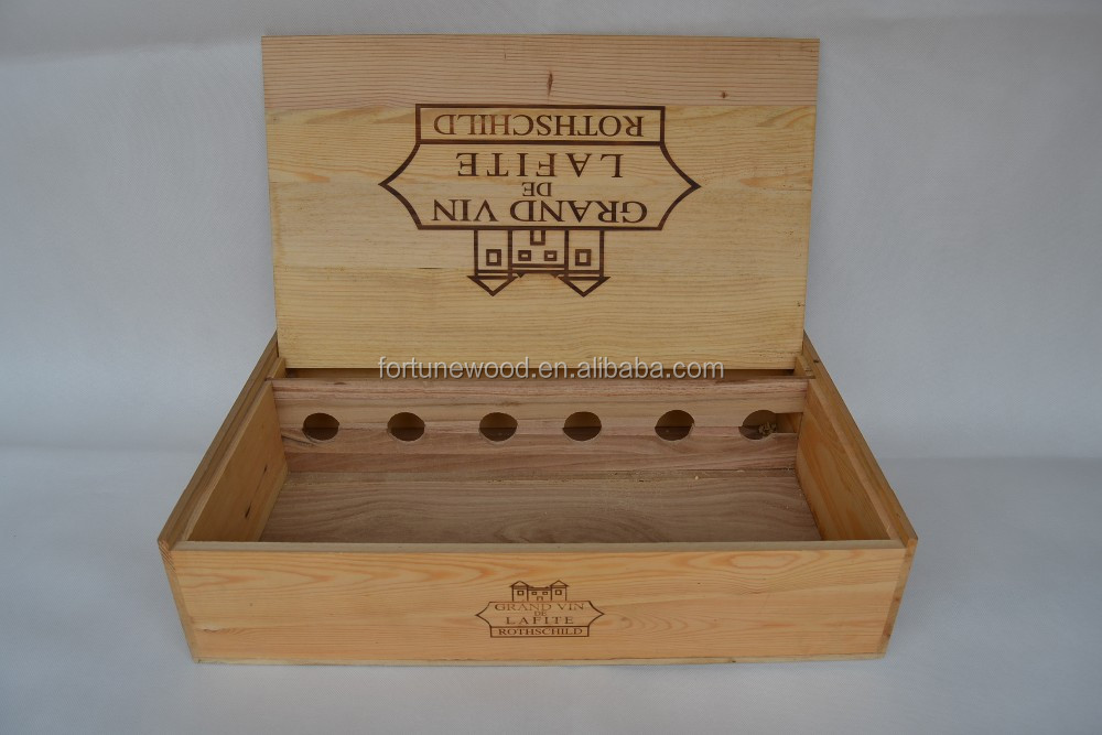 Bulk wooden boxes wooden wine box wine wood box buy bulk for Timber wine box