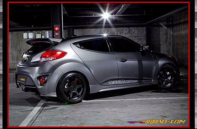 Brand Name Of Car >> [sequence] Veloster Turbo - Devil's Tuning Rear Spoiler (no.2101) - Buy Hyundai Veloster Turbo ...