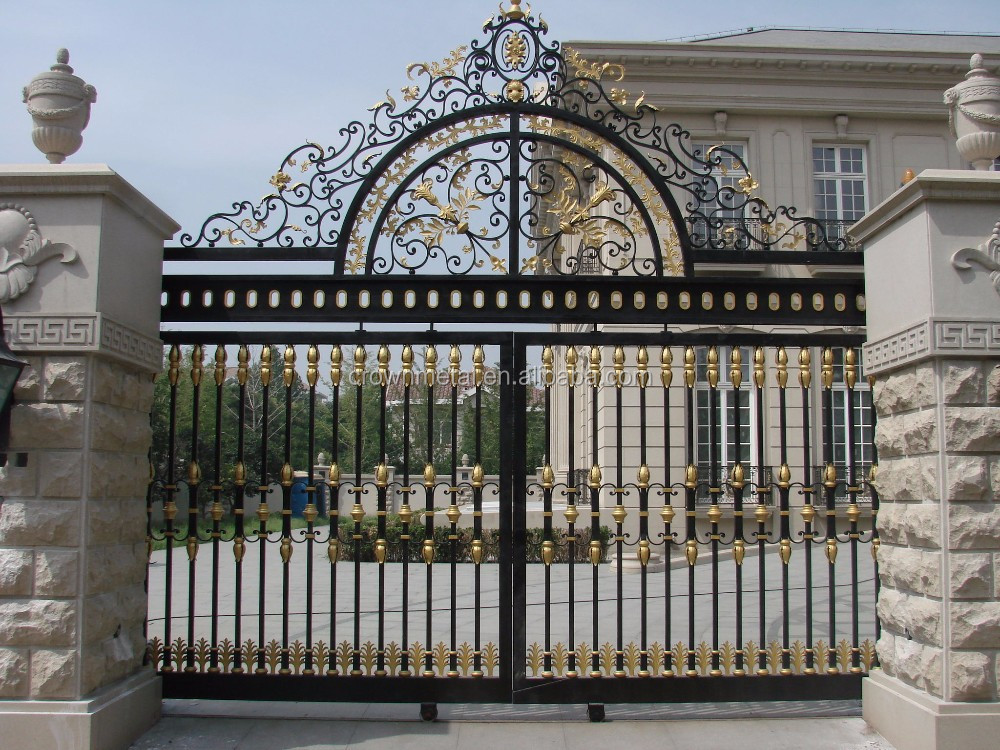 Sliding iron main gate design buy front gate designs new for Home main gate designs photos