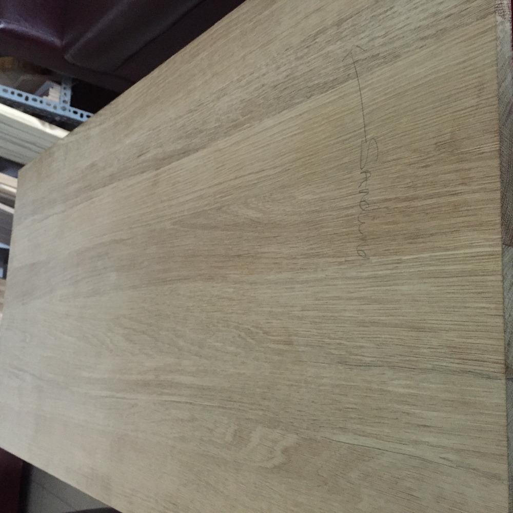 tablero de madera maciza de roble para de madera