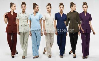 Spa beauty salon uniforms manufacturer buy spa beauty for Spa uniform alibaba