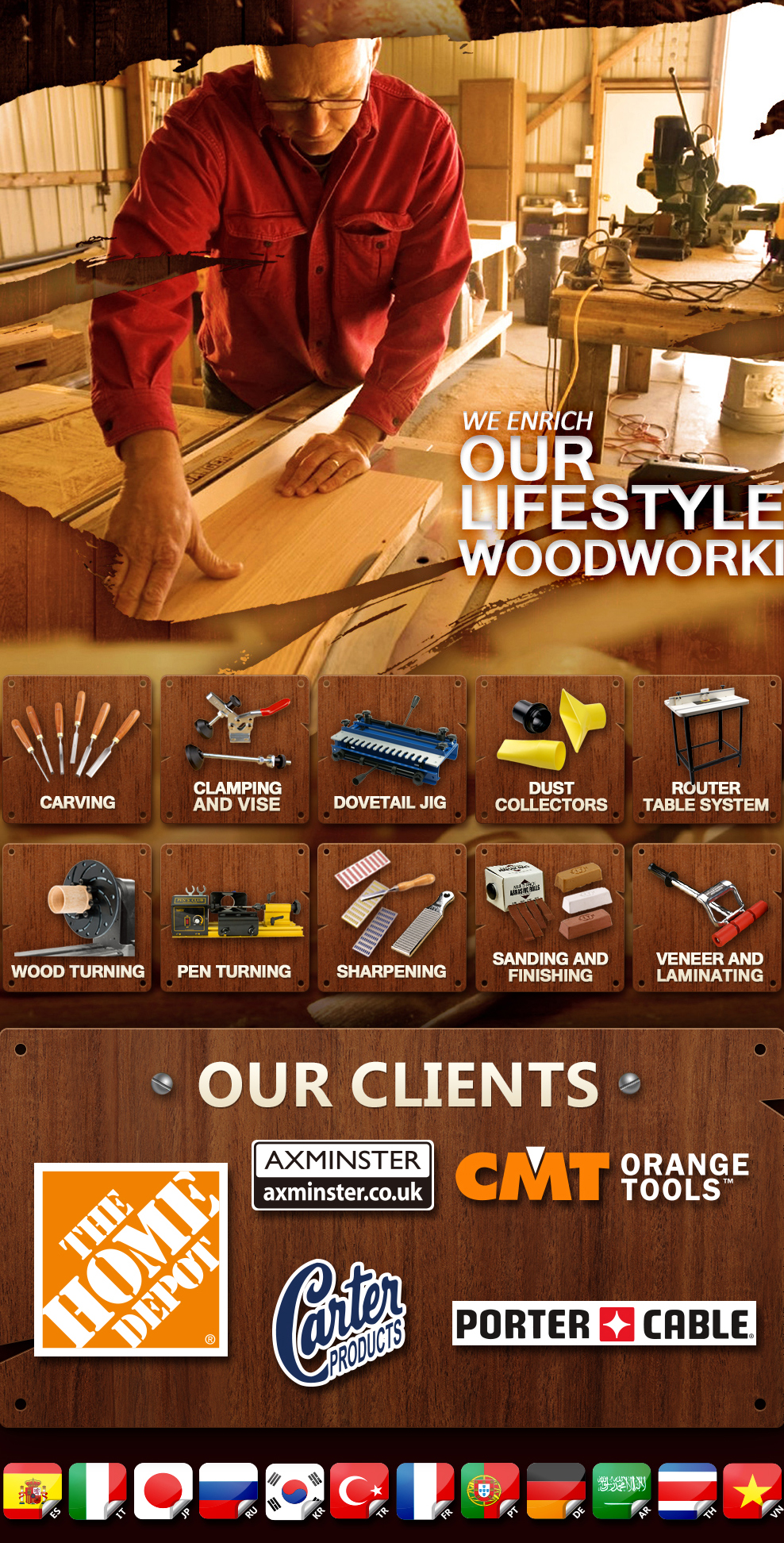 FORTUNE EXTENDABLES CORP. - Woodworking tools,woodworking accessories
