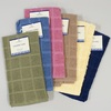 KITCHEN TOWEL 15INX25IN 100% COTTON 6 ASSTD SOLID COLORS #KT808