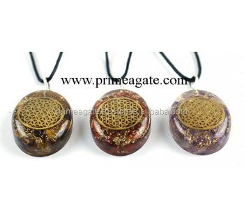 Mix orgone flower of life pendant wholesale orgone pendants buy mix orgone flower of life pendant wholesale orgone pendants mozeypictures Images