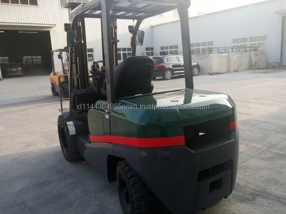 4 ton TCMC diesel forklift forklift brands Factory direct sale