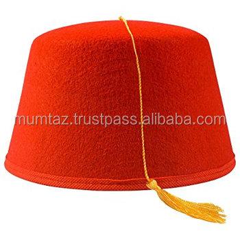 Traditional wool felt arab muslim headwear for men Muslim namaz prayer cap  online for men 9044dc6512b
