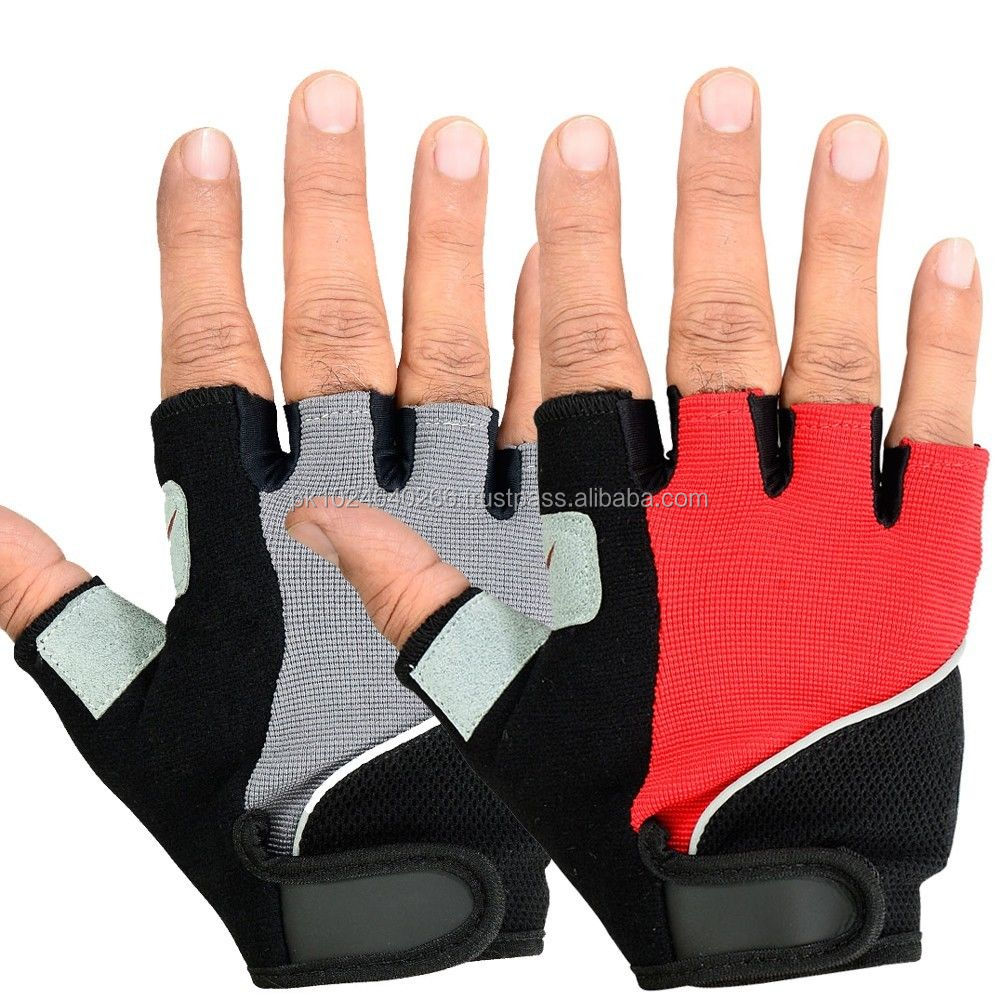Cycling Gloves Full & Half Finger Bike Bicycle Amara Leather Gloves