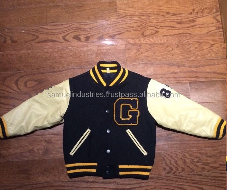 World Top Specialist BASEBALL JACKETS/ Baseball Varsity Jacket with Fine Stitching & Exceptional Embroidery Work Varsity Jacket