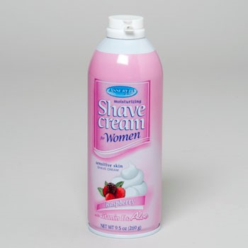 SHAVE CREAM 9.5OZ WOMENS RASPBERRY ASSURED #18511