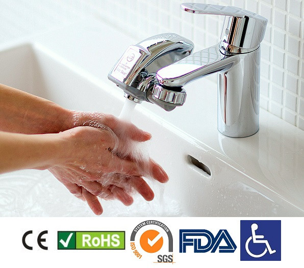 Bathroom Faucet Adapter water saver touch free faucet adapter. kitchen,bathroom or toilet