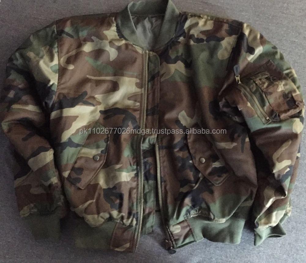 Wholesale Nylon Bomber Jackets / Nylon Flight Jackets / Military ...