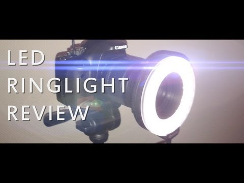 LED Ring Light / Ring Flash Aputure C60 Test und Unboxing Deutsch