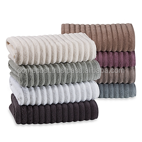 High Quality Woven Technics Adults Age Group Bamboo Jacquard Towel