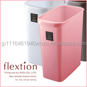 Various sizes of 90L garbage trash bin with locking feature