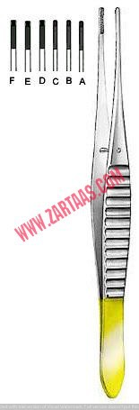 DeBakey Atraumatic Dressing Forceps 16CM, 20CM, 24.5CM, 16CM, 20CM & 24.5CM, T C (AVAILABLE IN DIFFERENT SIZES)