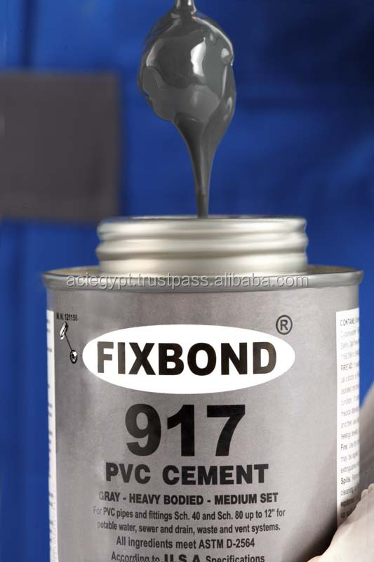 Fixbond 917 ( Upvc / Pvc Glue Solvent Cement ) - Buy High Pressure Pvc Solvent Cement,High ...