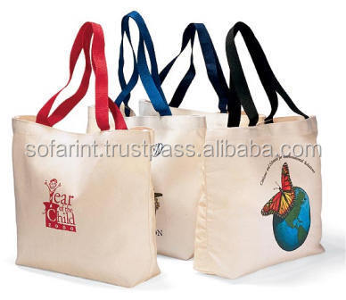 Reusable Cotton Shopping Bag/ Canvas Grocery Bag/ Promotional Shopping Bag