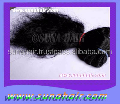 100% Brazilian Real natural vergin silky curly human hair extension