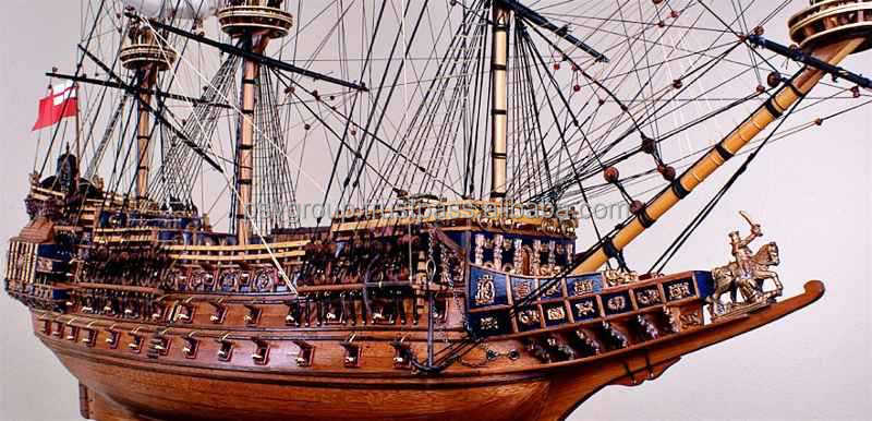 Sovereign Of The Seas Ship Wooden Model Suppliers And Manufacturers At Alibaba