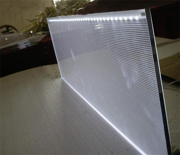 High Quality Stable Light Acrylic Lgp Sheet Laser Dot