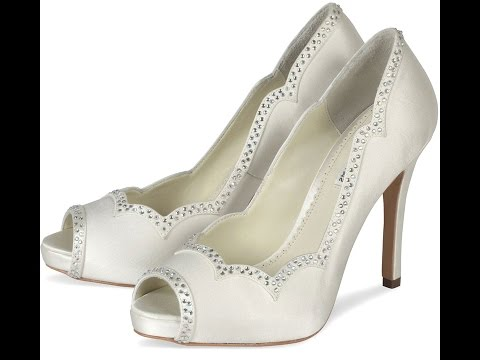 Wedding Shoes - Dyeable Wedding Shoes - White Wedding Shoes