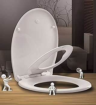 Excellent Royal Crown Family Toilet Seat W Silent Close Built In Child Potty Training Seat New Elongated Round Thin Design Buy Family Toilet Seat Potty Evergreenethics Interior Chair Design Evergreenethicsorg