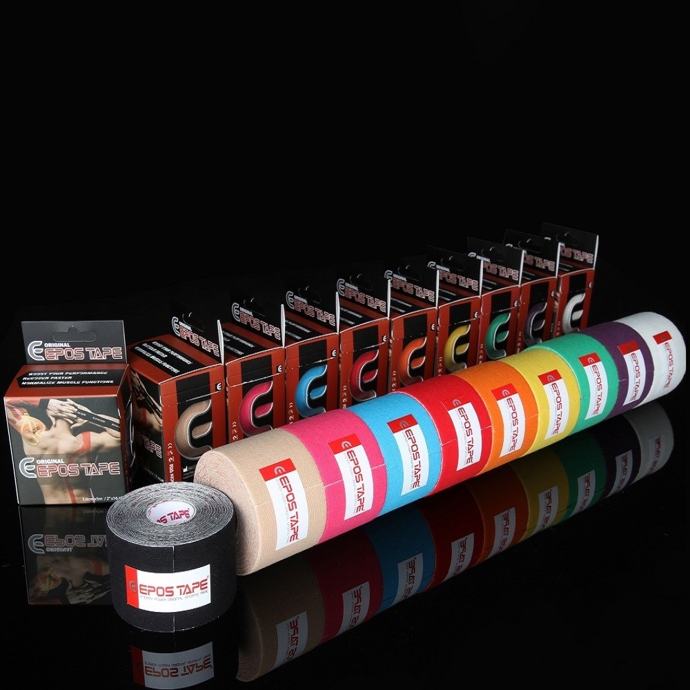 EPOS TAPE, Kinesiology tape, Sports tape, cotton, South Korea