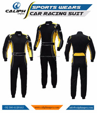 Auto Go Car Racing Suit Yellow