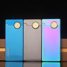 Metal USB Arc Lighter,Electric Pulse X Arc Lighter,can put in cigarette case box