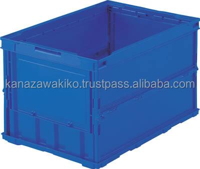 Trusco Thin Folding Container Tro50b