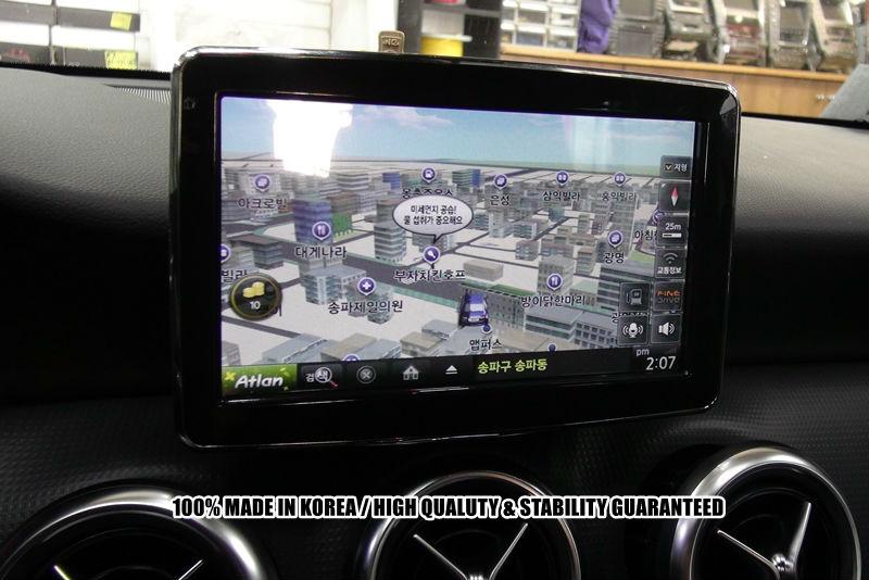 Mercedes benz new a b cla gla g navmax 8 video interface for Mercedes benz navigation system update