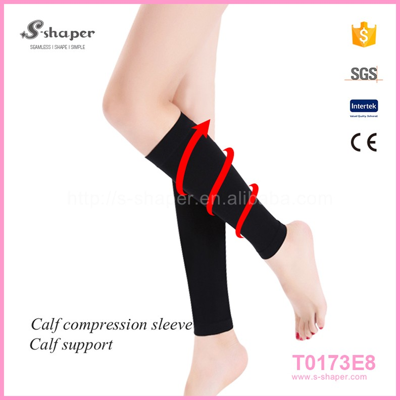 Oem Service Calf Compression Sleeve Running Training Exercise Athletic Leg Sleeves
