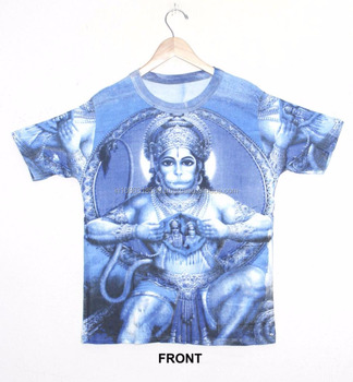 fb54dd93 Hippie Dj Art T - Shirt Shirt M / L / Xl Hindu God Deity Sri Ram ...