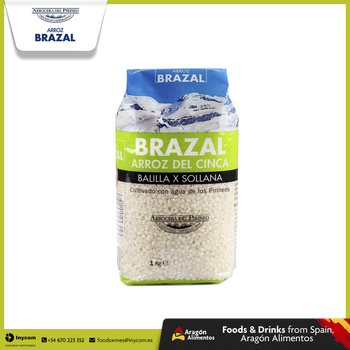 White Round Rice From Spain Bulk | Balilla x Sollana ideal for Risottos | Arrocera del Pirineo