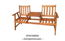Outdoor furniture seat, wooden furniture, home & garden