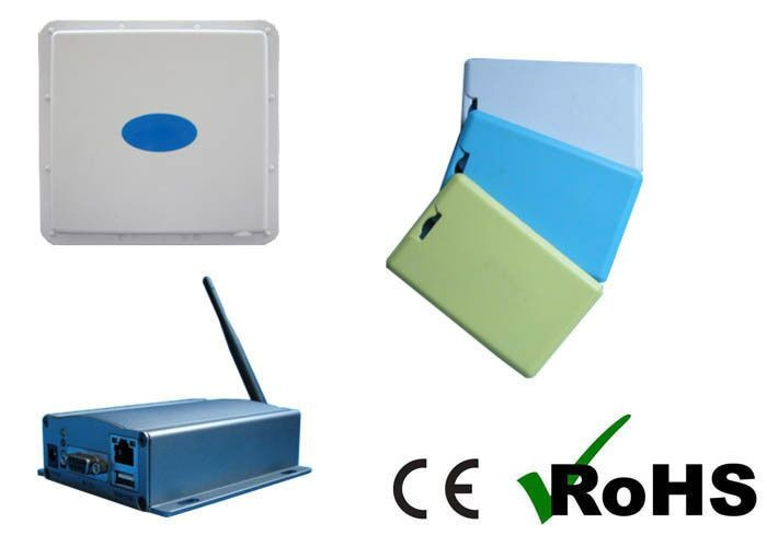 2.4g Active Rfid Card Tag For Employee Id Control System