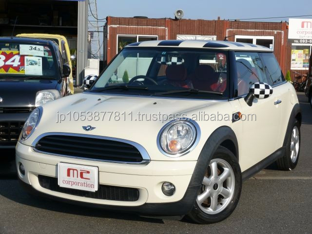 japanese used mini cooper in japan with Good Condition MINI COOPER 2008