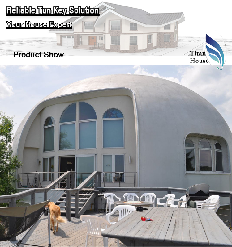 Dome Home Kits: I-dome House Kit With Light Gauge Steel Components