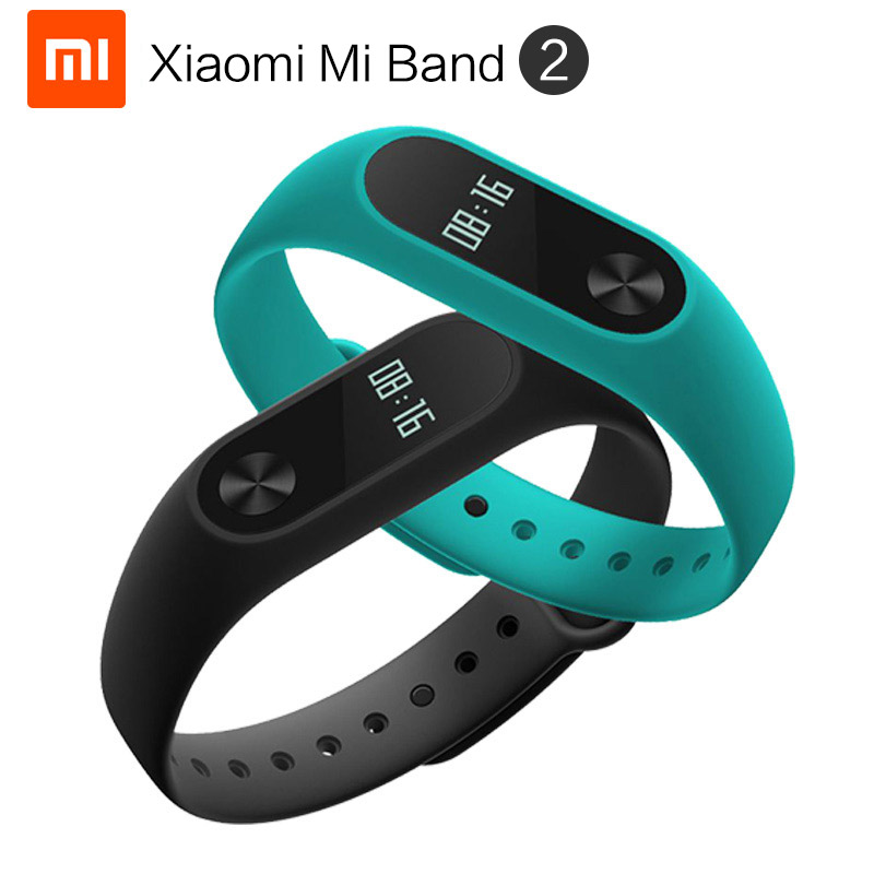 EU DHL Shipping Original New Xiaomi Mi Band 2 Wristband Bracelet with OLED Screen and waterproof