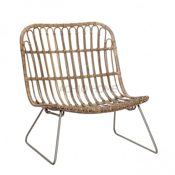 Vietnam Achio Rattan Lounge Chair, Living Room Chair, Rattan Chair