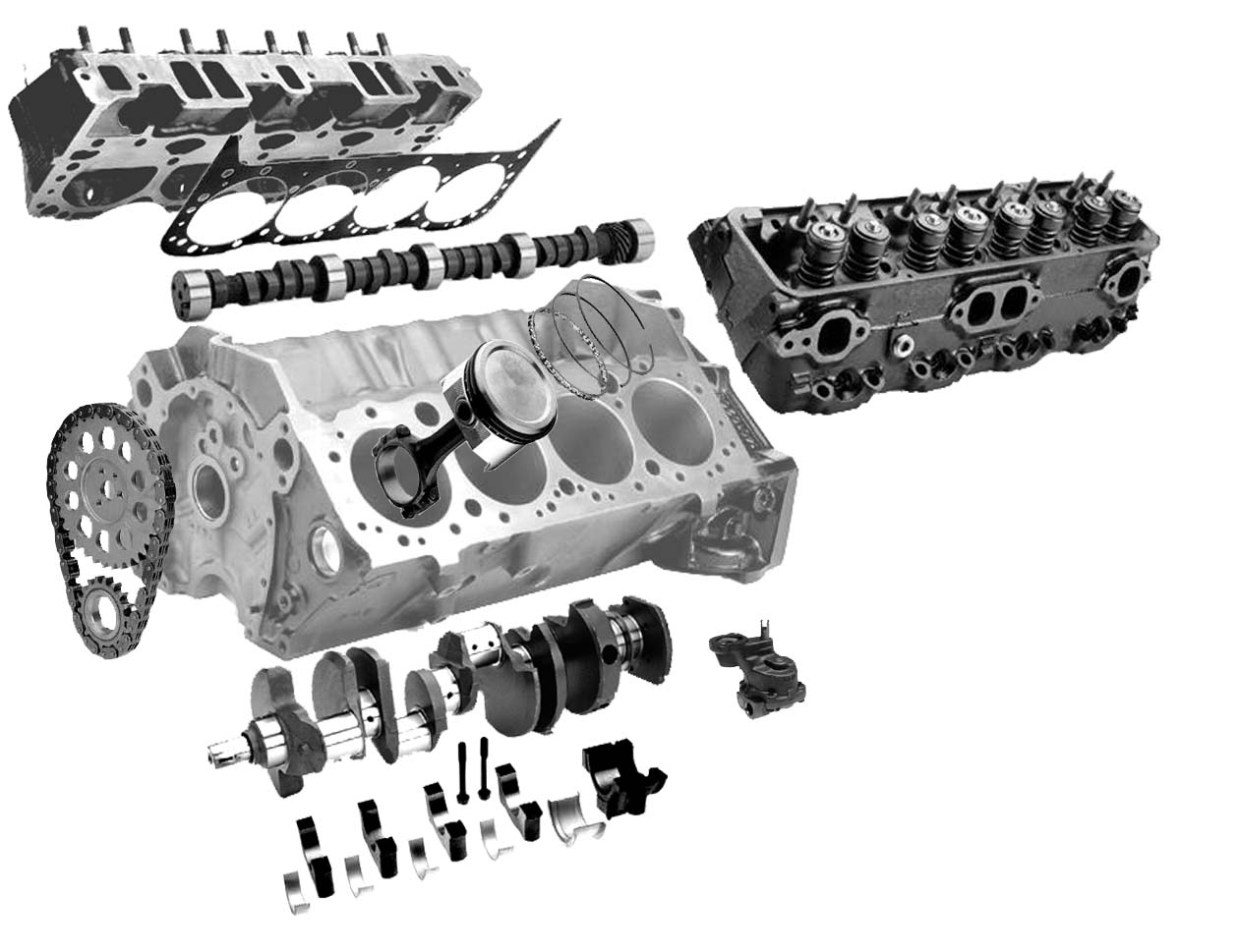 Korean Genuine Doosan/daewoo Engine Spare Parts