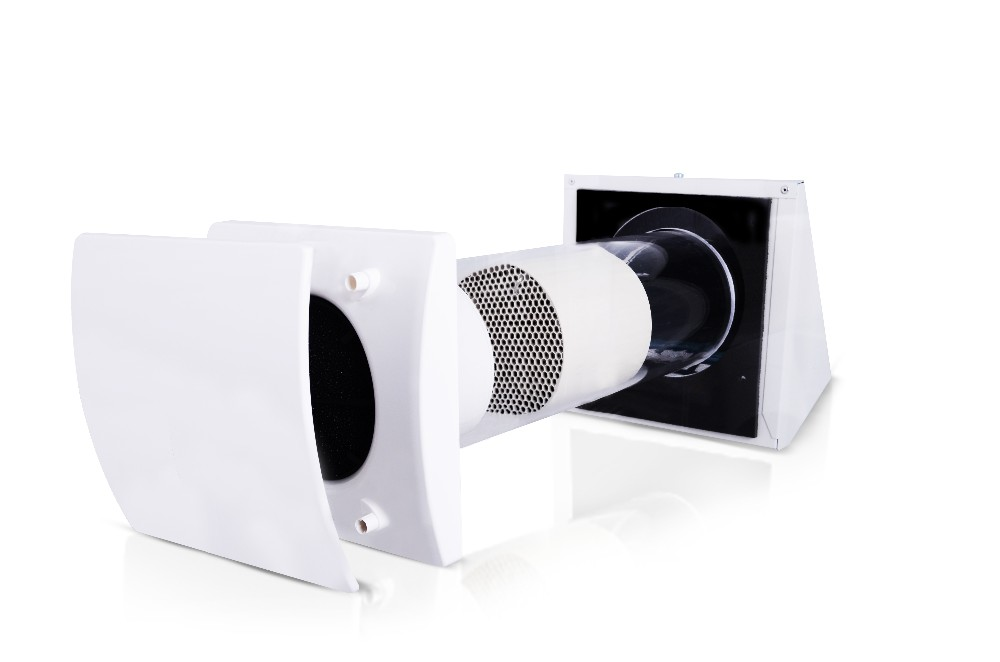 Heat Recovery Inside Wall Unit Ceramic Heat Exchanger