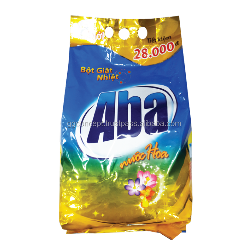 Aba Perfume Detergent Powder 4000g / Wholesale Detergent Powder / Laundry Detergent