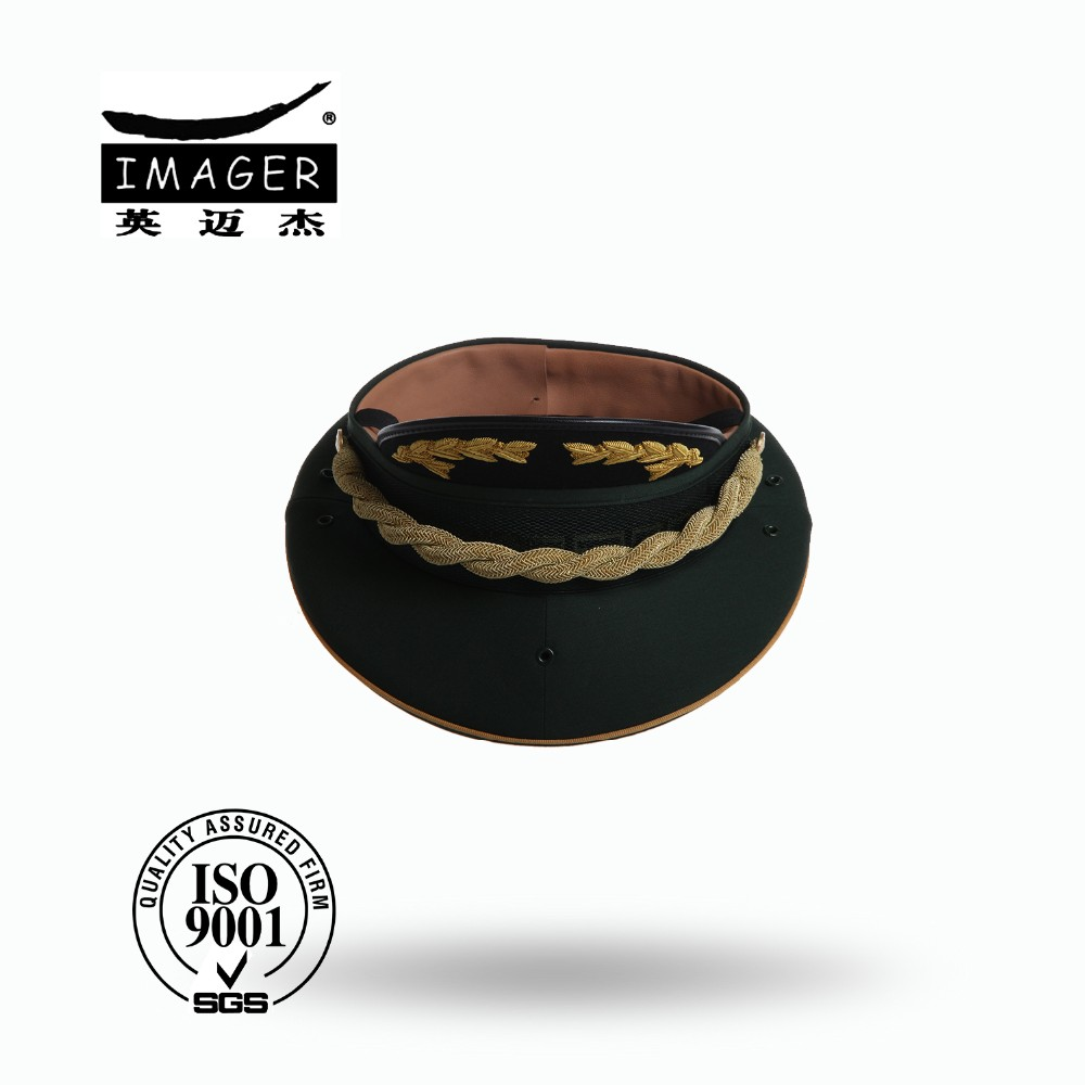 13ec4881142 Customized Air Force Warrant Officer Cap with Gold Embroidery for Military  Supply