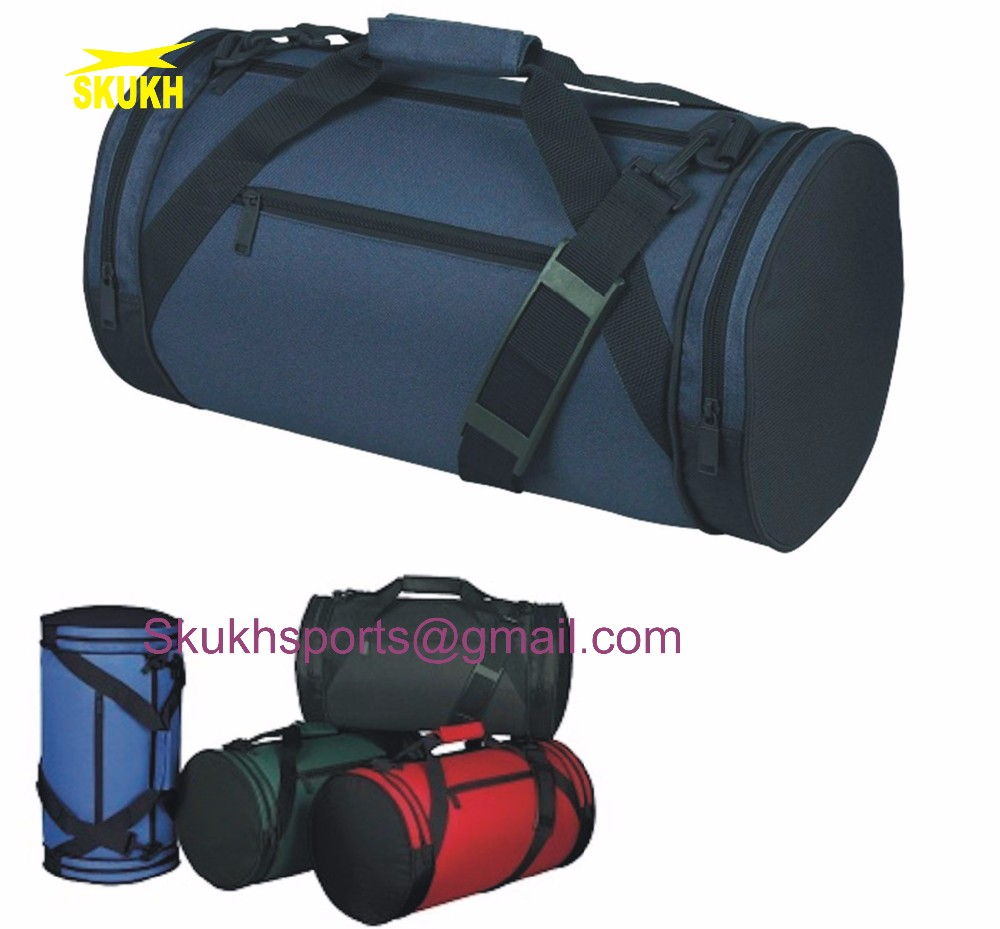 b38d02e81 Polyester ROLL Duffle Duffel Bag Travel Sports Gym Bags Luggage 18 Two Tone,  Travel Luggage
