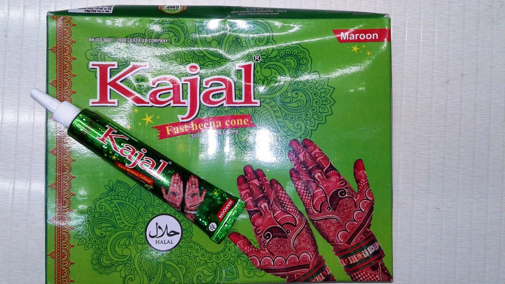 Kajal Natural Henna Mehndi Tube