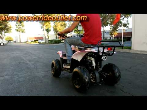 PRO ATV Mini Raptor 110cc ATV walk around