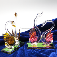 Swan crystal craft