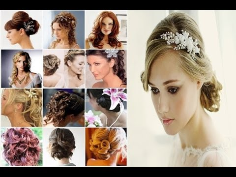 Bridal Hair, Bridal Hair Accessories, Bridal Hairstyles 2015